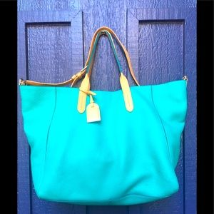 Cole Haan Turquoise Tote🌿